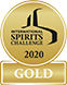International Spirits Challenge 2020 Gold Winner