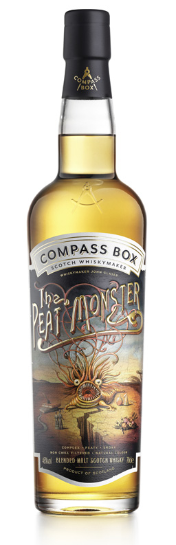 Peat Monster Painted Label